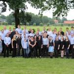 Groepsfoto Harmonieorkest
